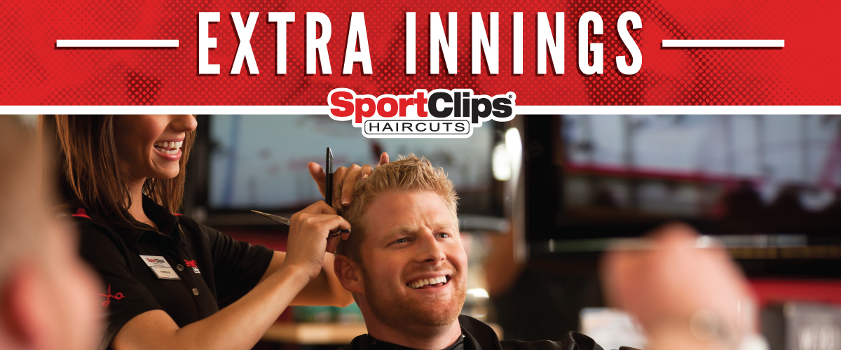The Sport Clips Haircuts of Atascocita Extra Innings Offerings